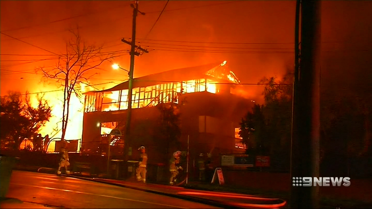 Heritage-listed school ravaged by fire