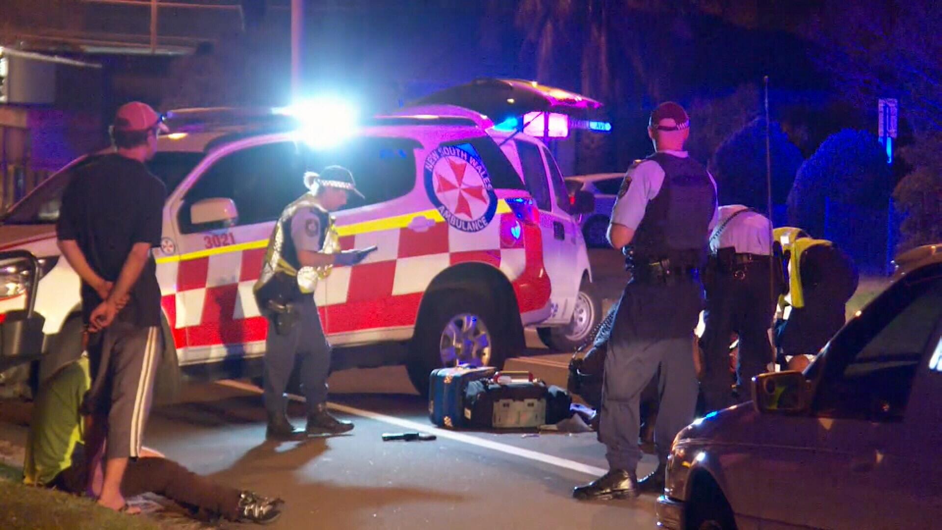 Wollongong pedestrian hit