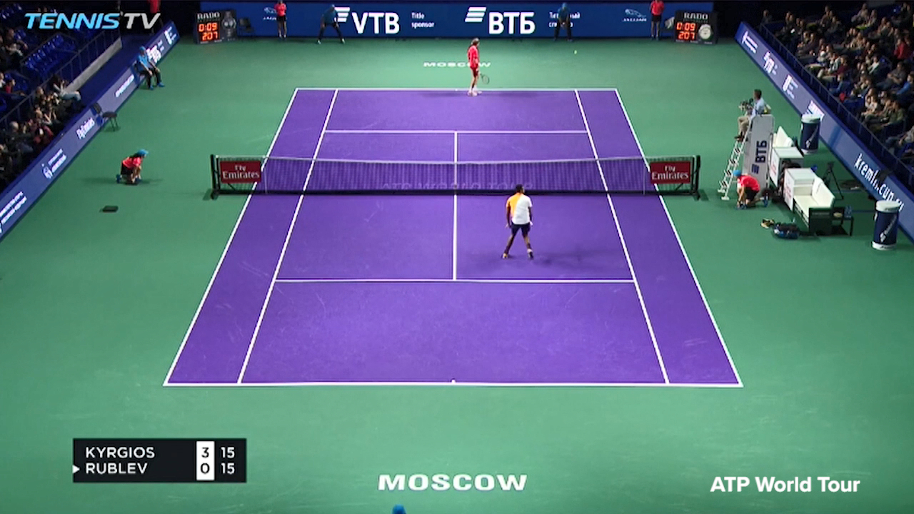 Kyrgios stuns in Moscow