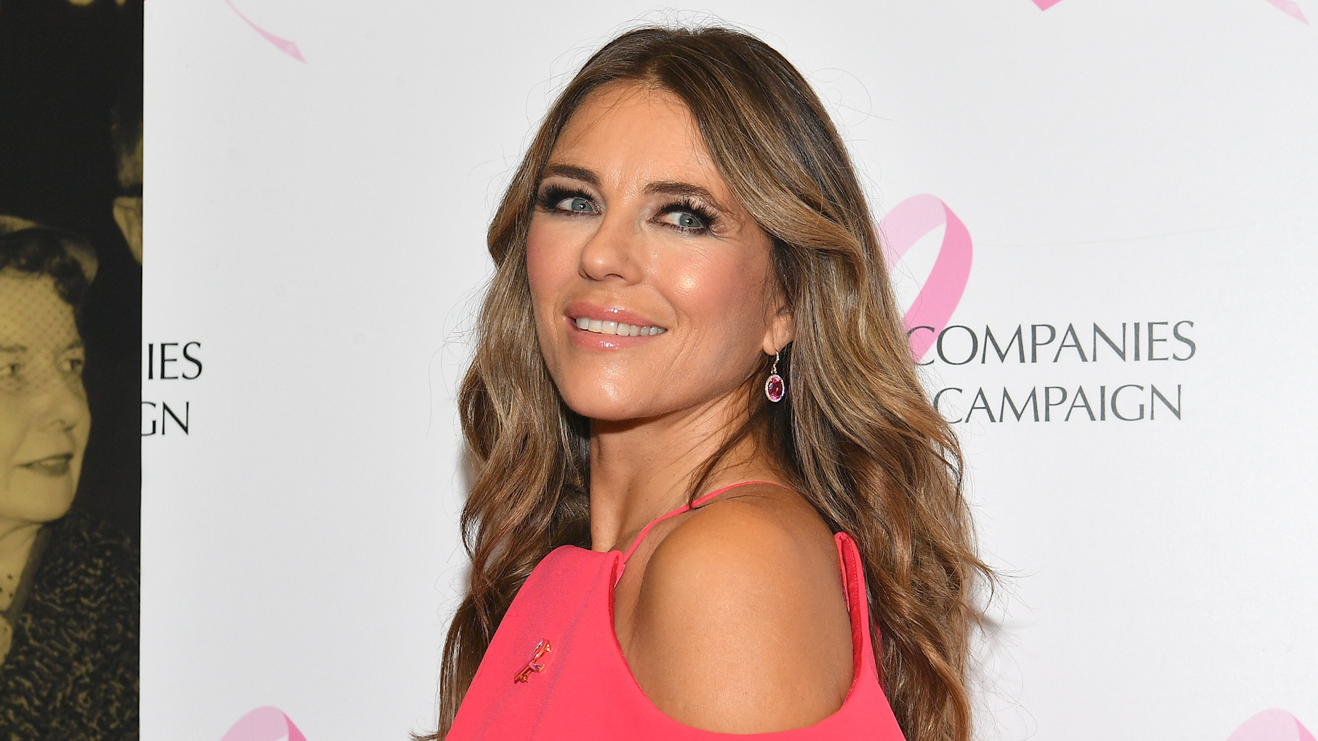 Liz Hurley is learning to rap