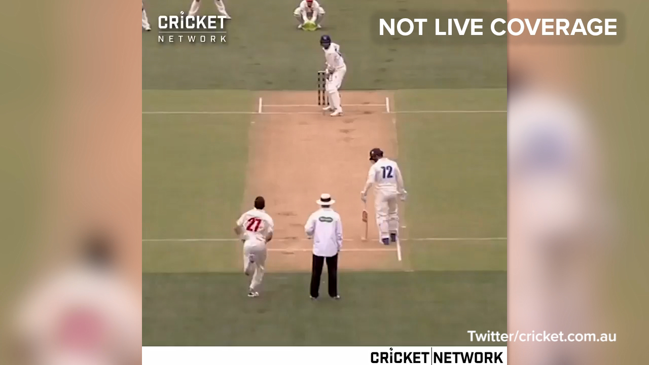 Sangha bowled by Sayers