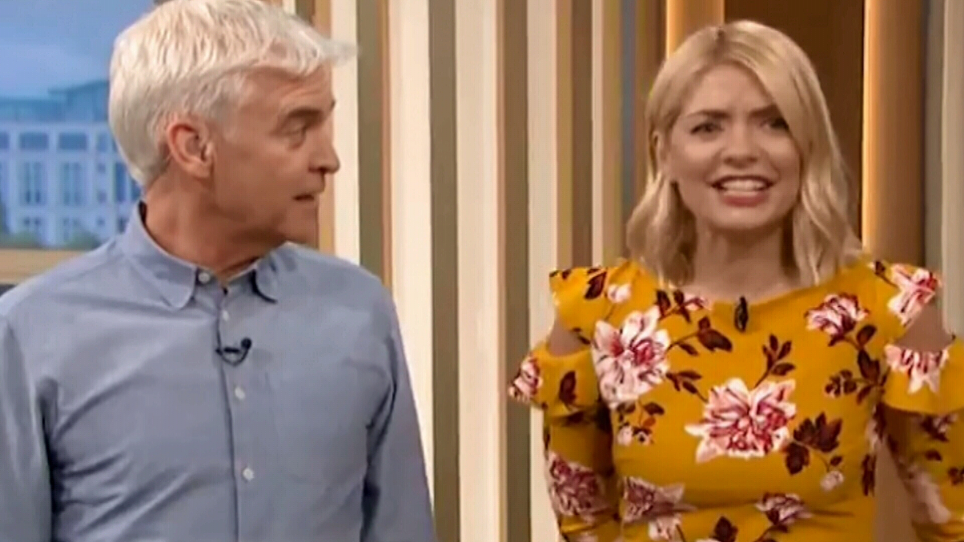 Holly Willoughby accidentally slips into Australian accent