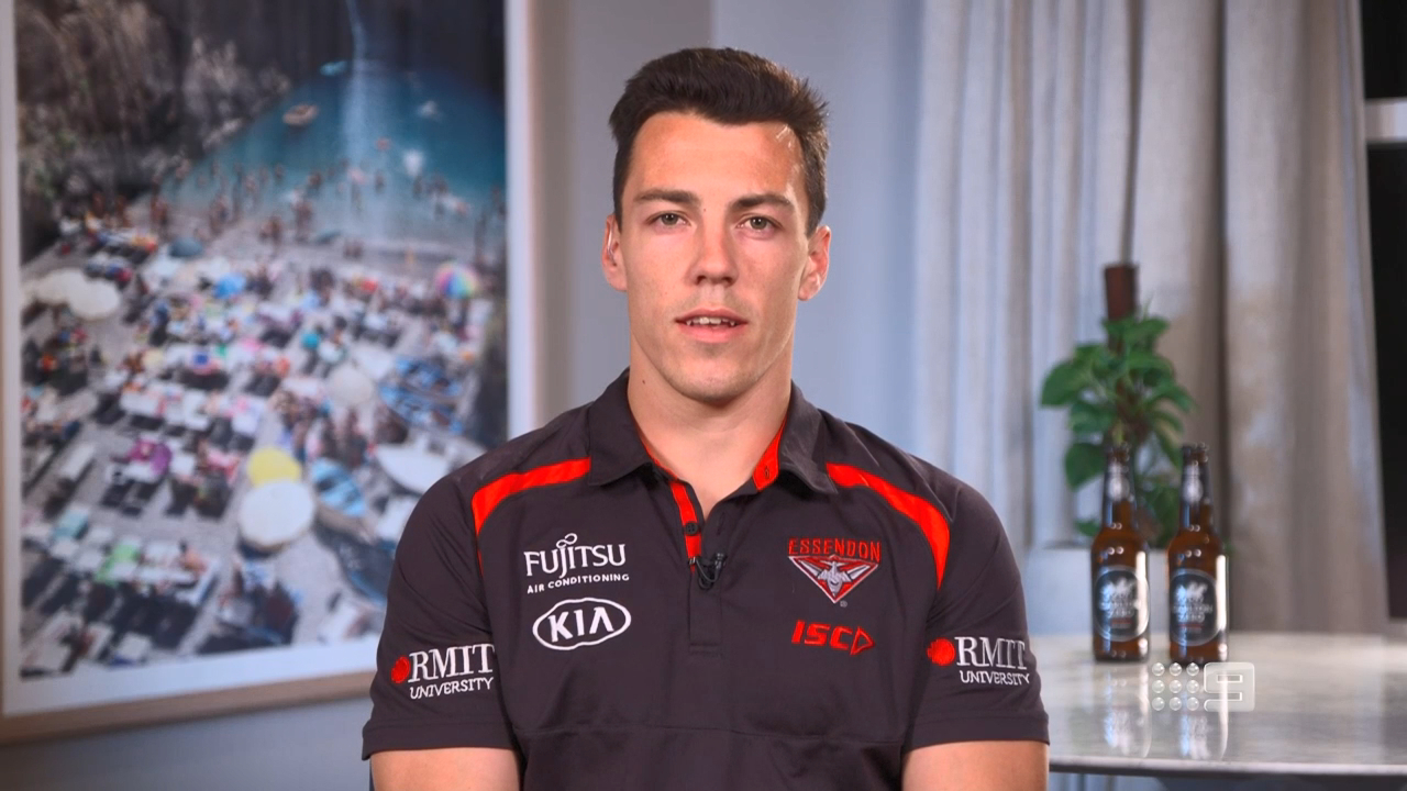 Shiel speaks for the first time as a Bomber