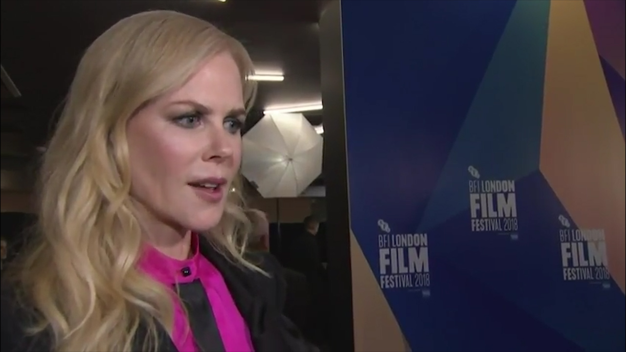 Nicole Kidman discusses new movie 'Destroyer'