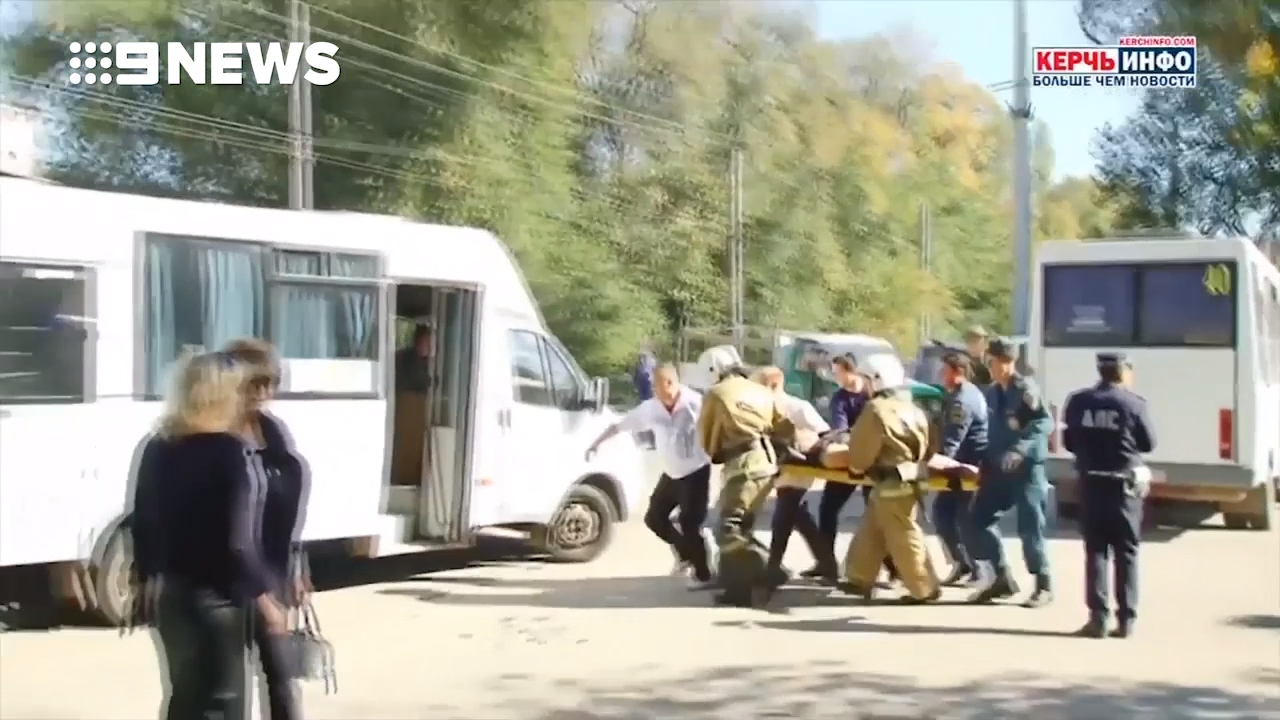 At least 19 killed in Crimea college shooting