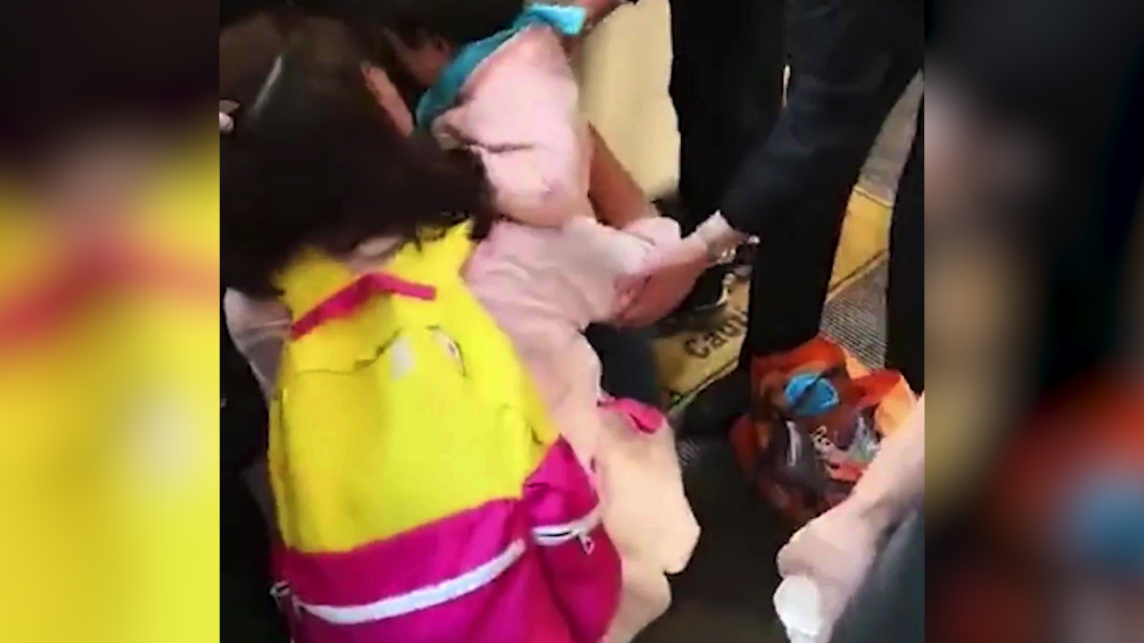 Little girl, 3, falls between train and platform while mum was 'glued to phone'