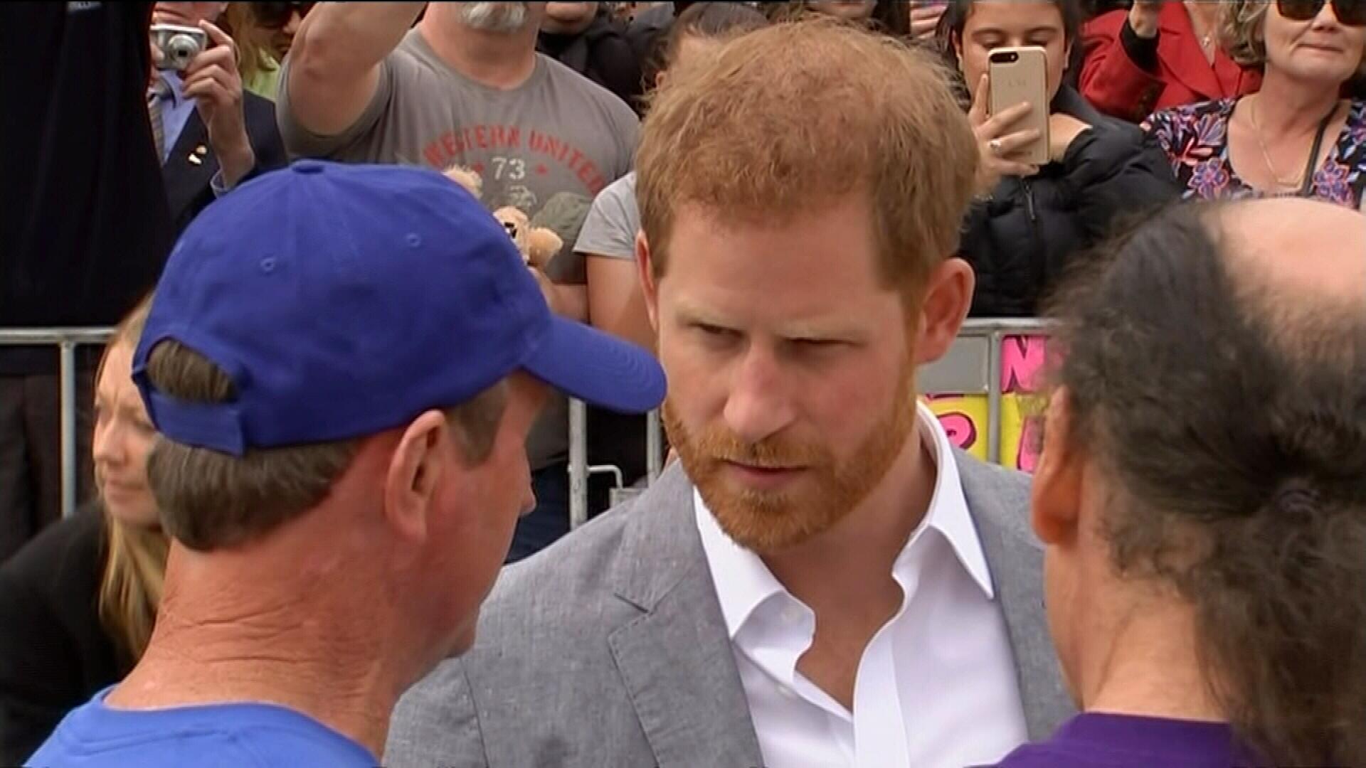 Prince Harry and Meghan speak with BeachPatrol president