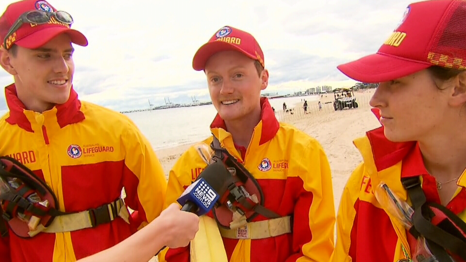 Melbourne lifeguards speak on meeting Prince Harry and Meghan
