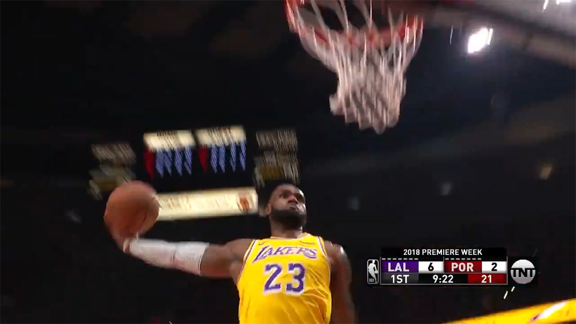 LeBron's insane Lakers start