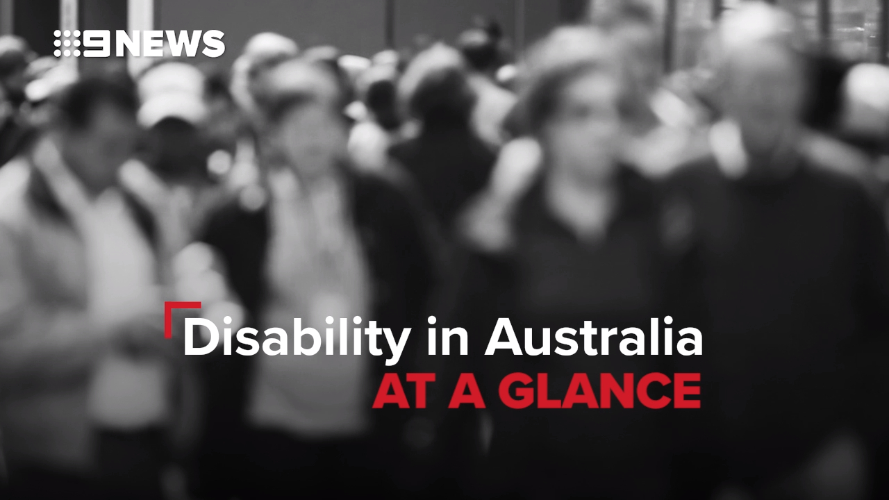 Disability in Australia at a glance