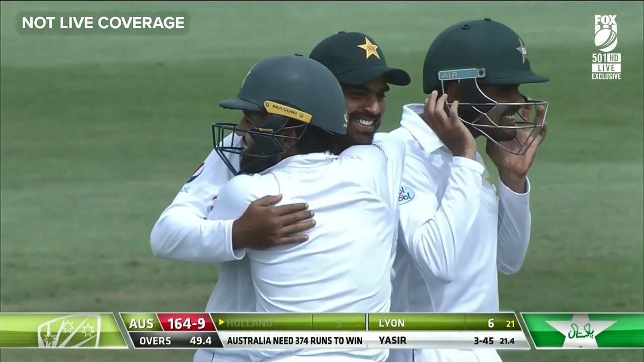 Pakistan win second Test