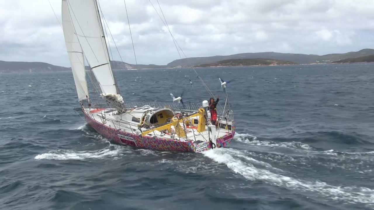Woman faces death on solo sailing tours