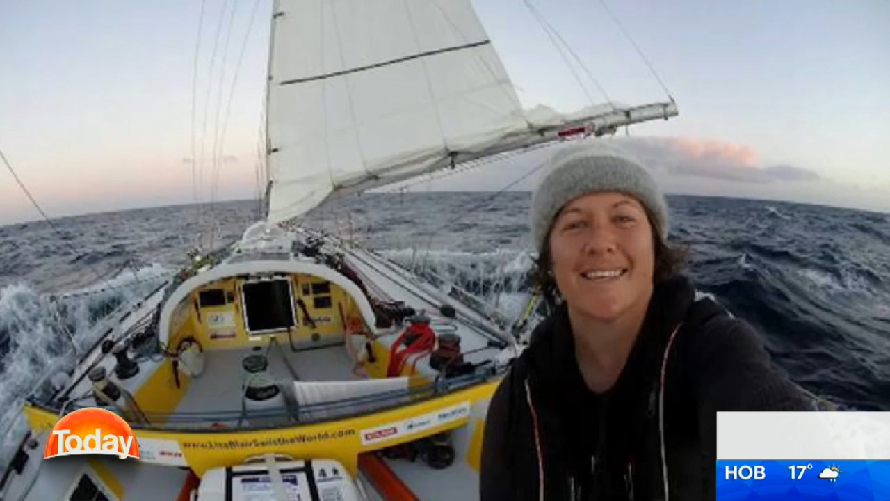 Woman sets sail to break world record