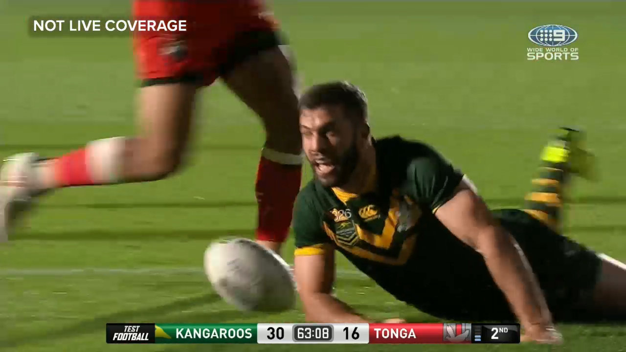 Tedesco puts Kangaroos well ahead