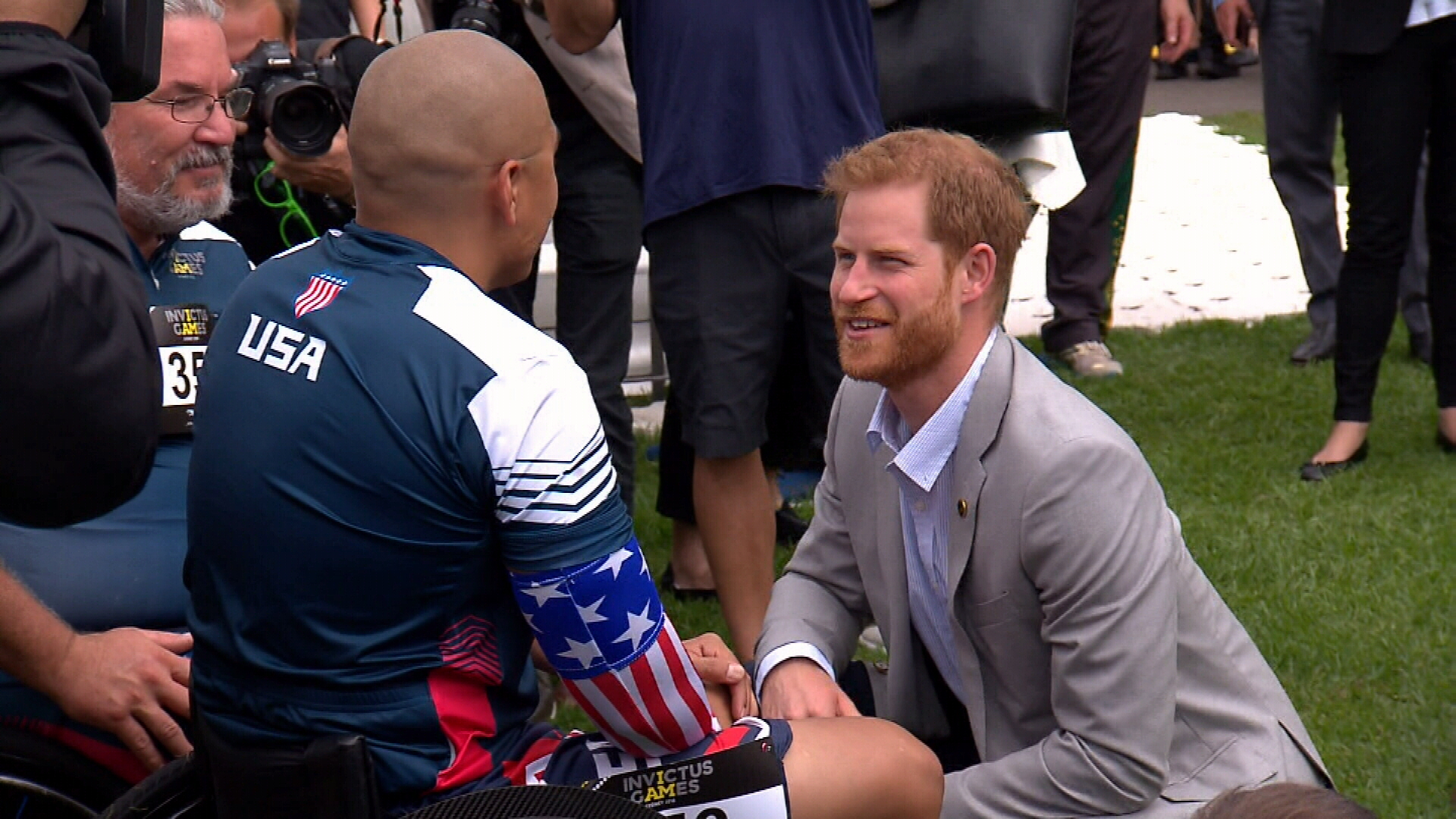 Day one of Prince Harry's Invictus Games