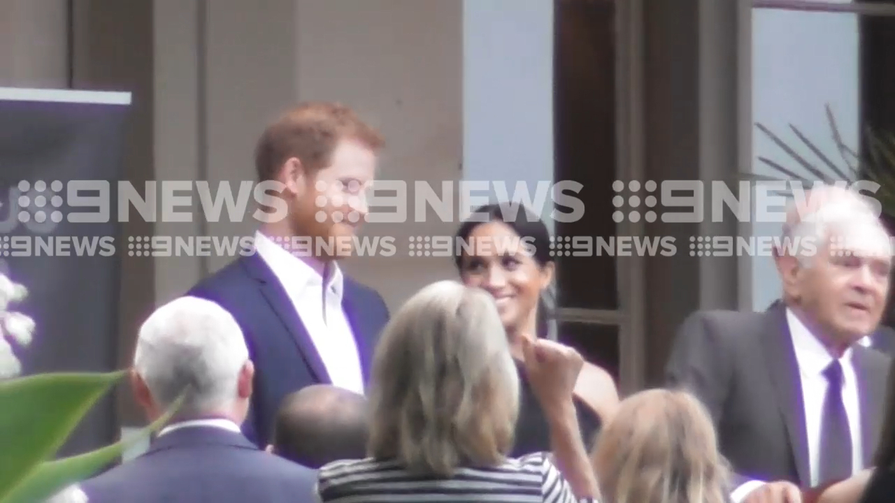 Prince Harry and Meghan attend function at Government House