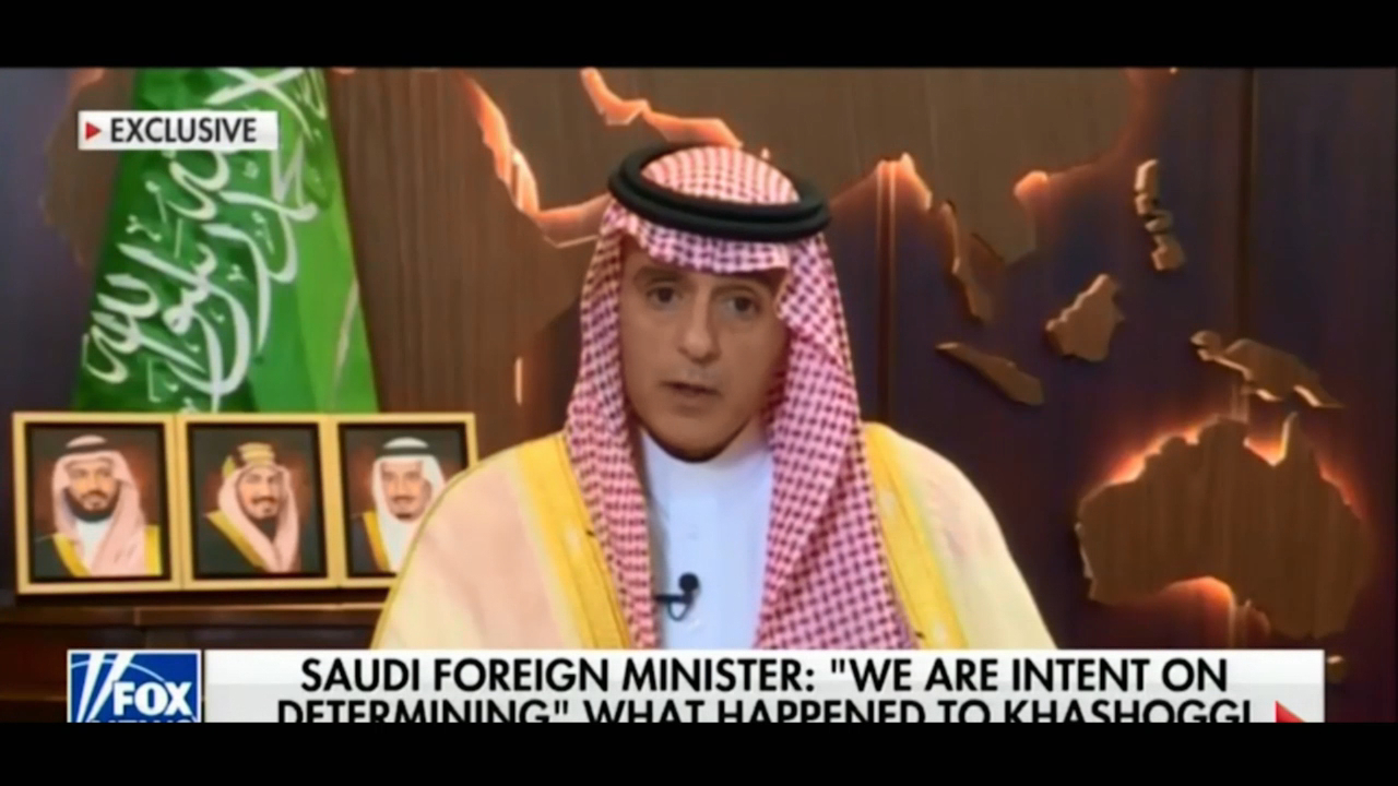 Saudi foreign minister says Khashoggi killing was 'huge and grave mistake'