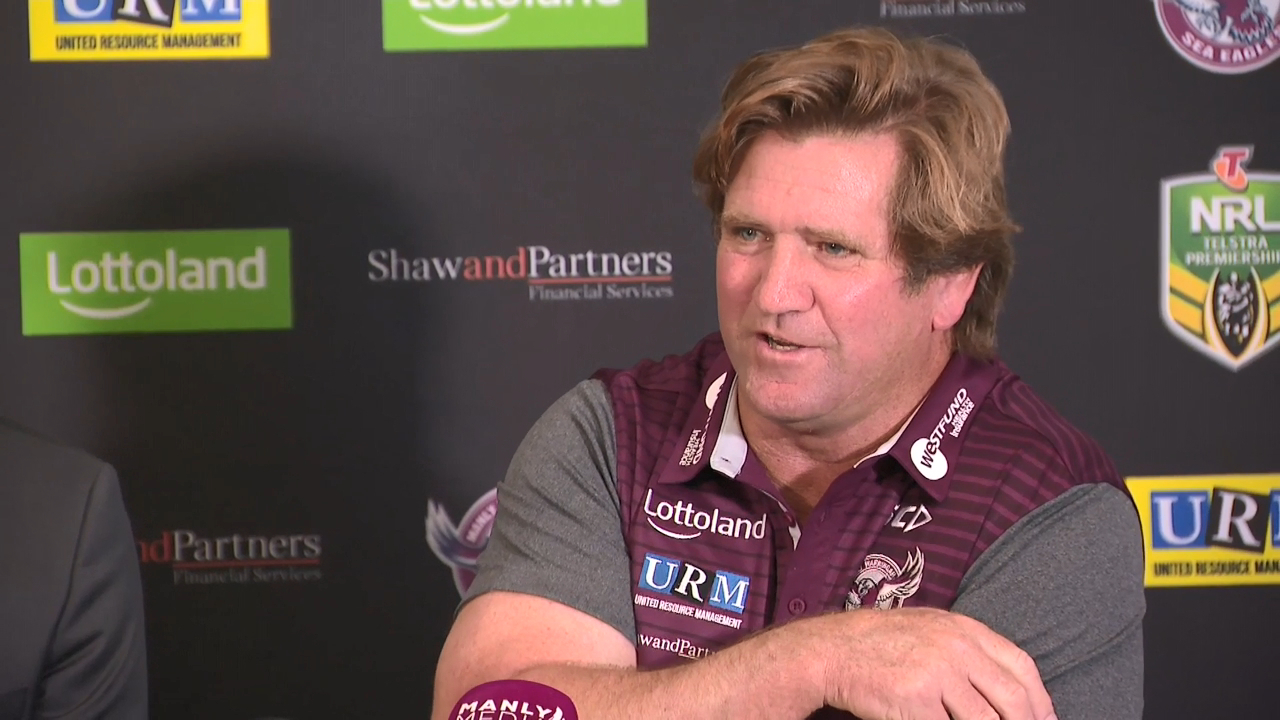 Hasler announces return to Manly
