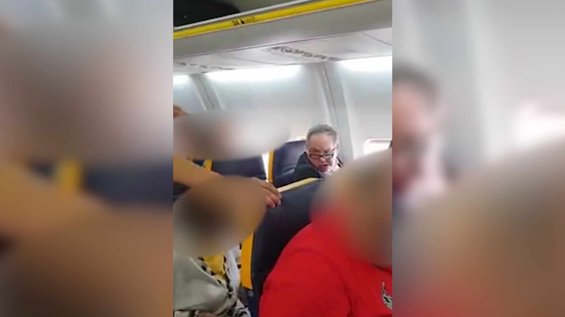 Police investigate racist incident on plane