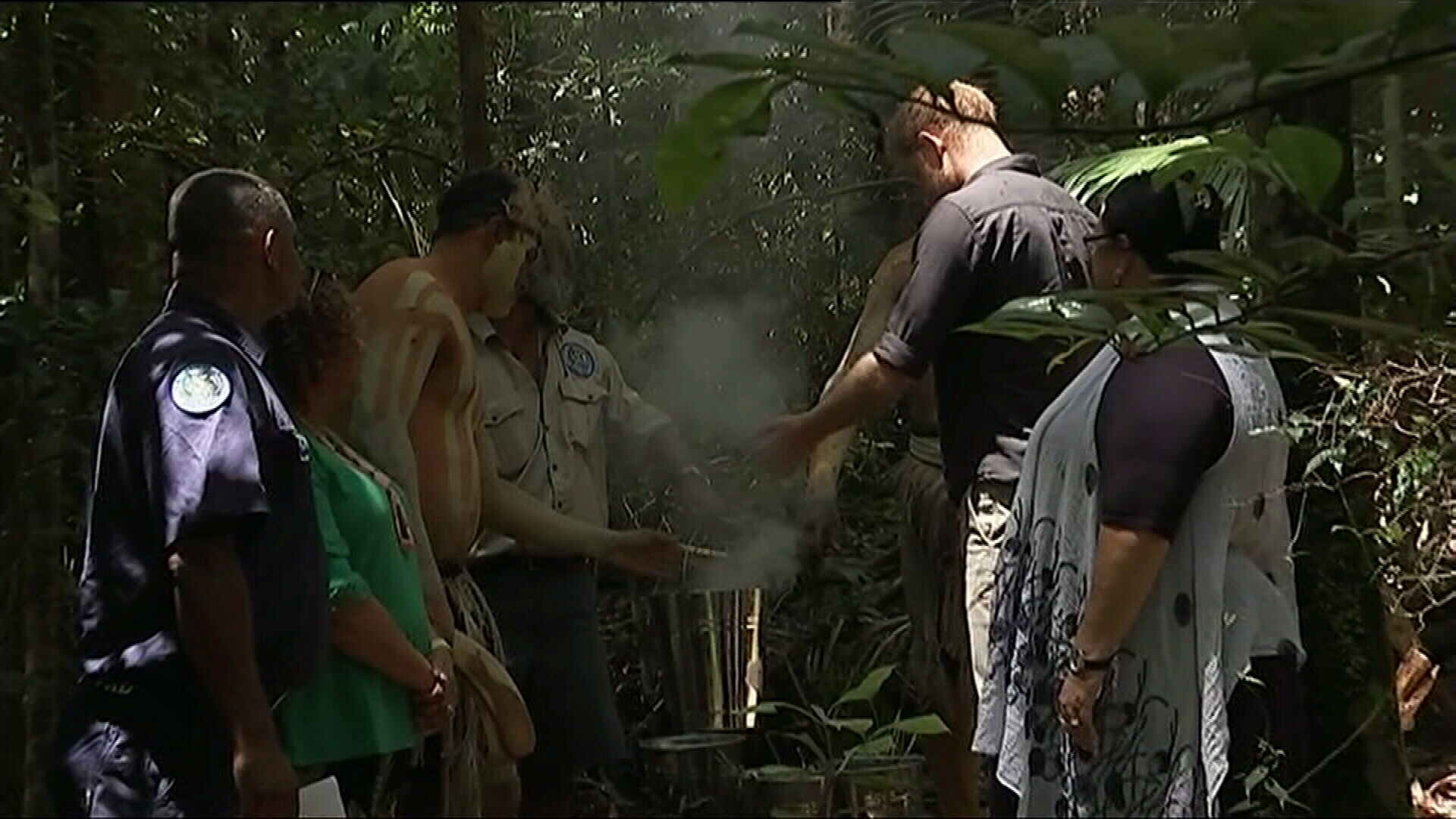 Prince Harry takes part in Smoking Ceremony