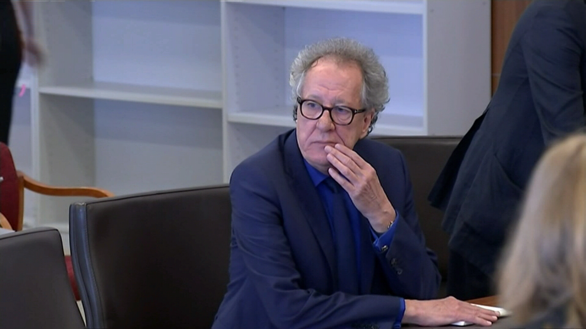 Geoffrey Rush in court for defamation trial