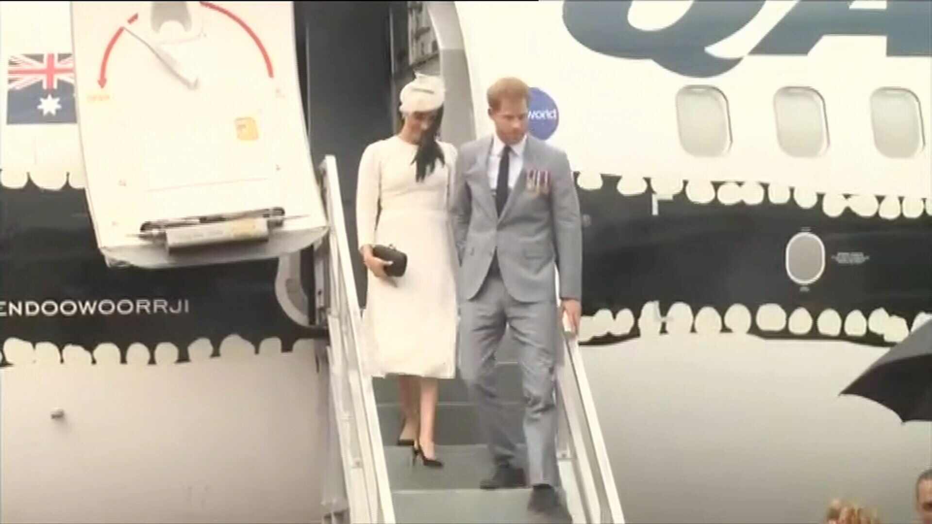 Prince Harry and Meghan visit Fiji