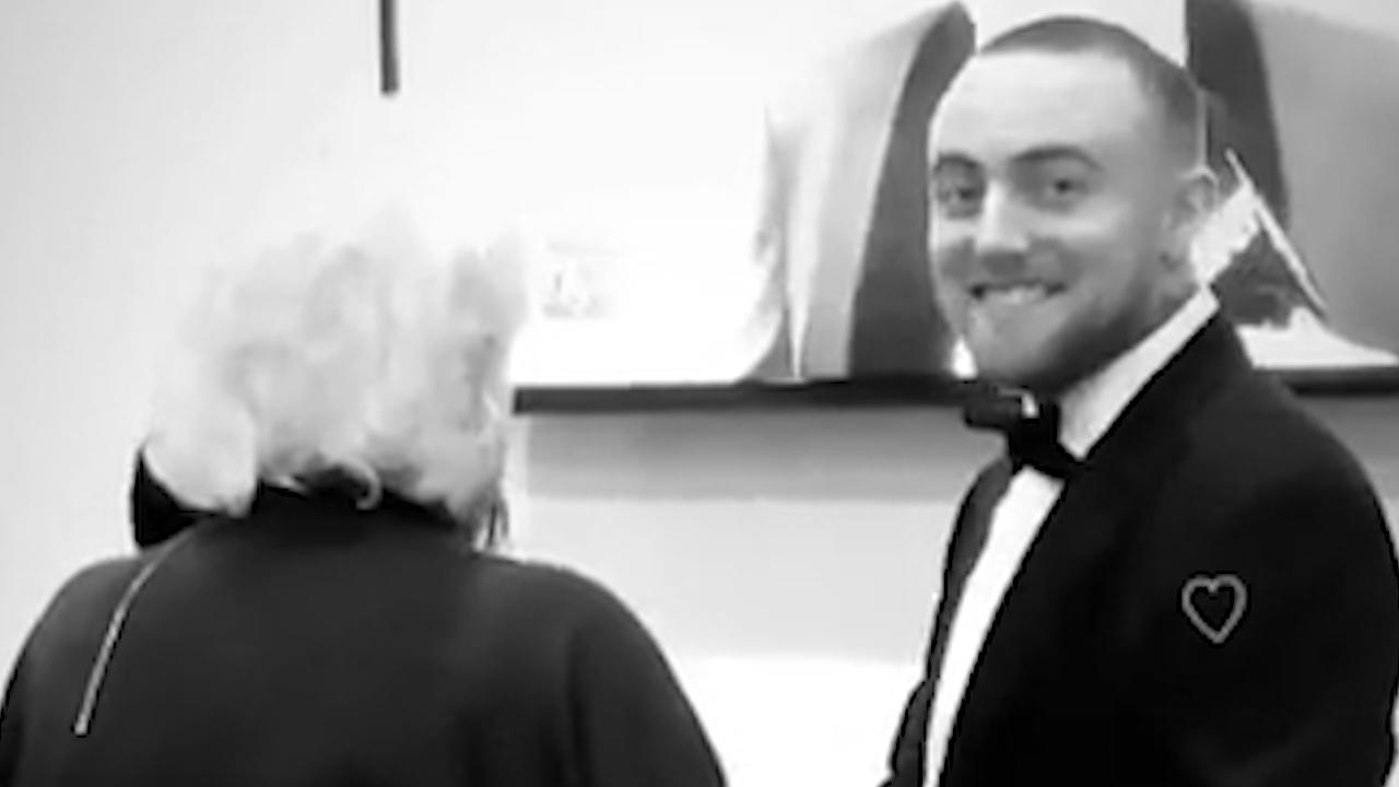 Ariana Grande shares video of late ex-boyfriend Mac Miller