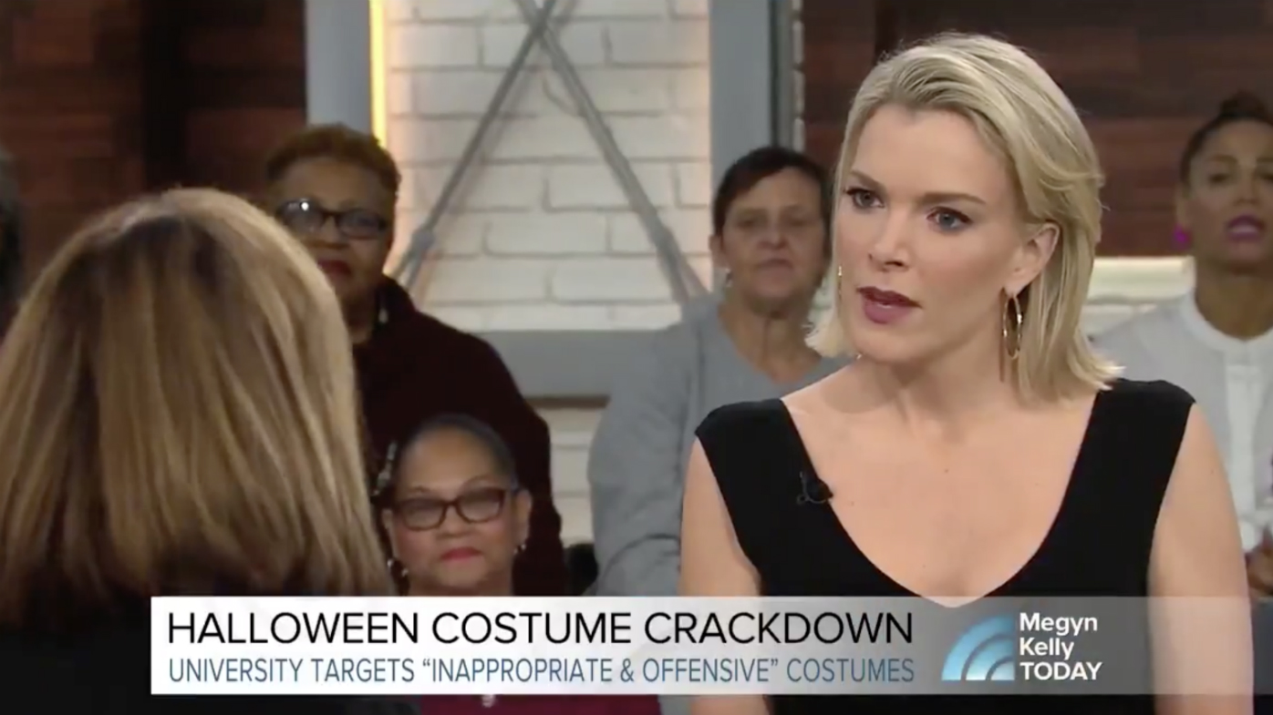 Megyn Kelly sparks outrage over 'blackface comment'