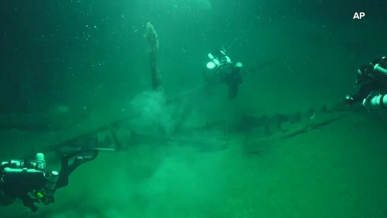 World's oldest complete shipwreck found in Black Sea