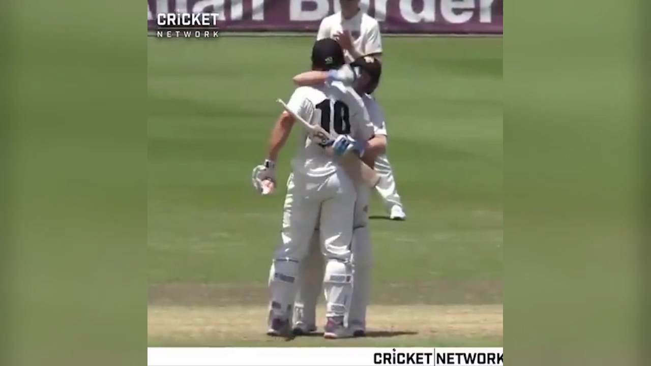 Marsh slams Shield ton