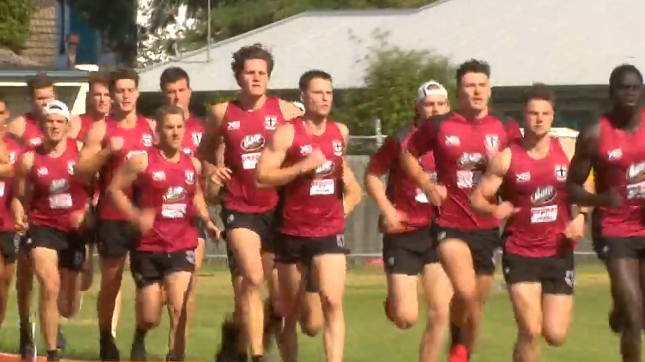 Saints begin pre-season training