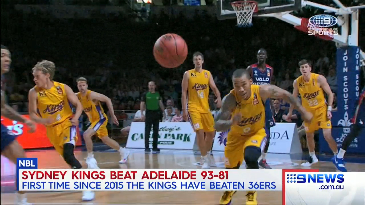 Kings finally break Adelaide drought