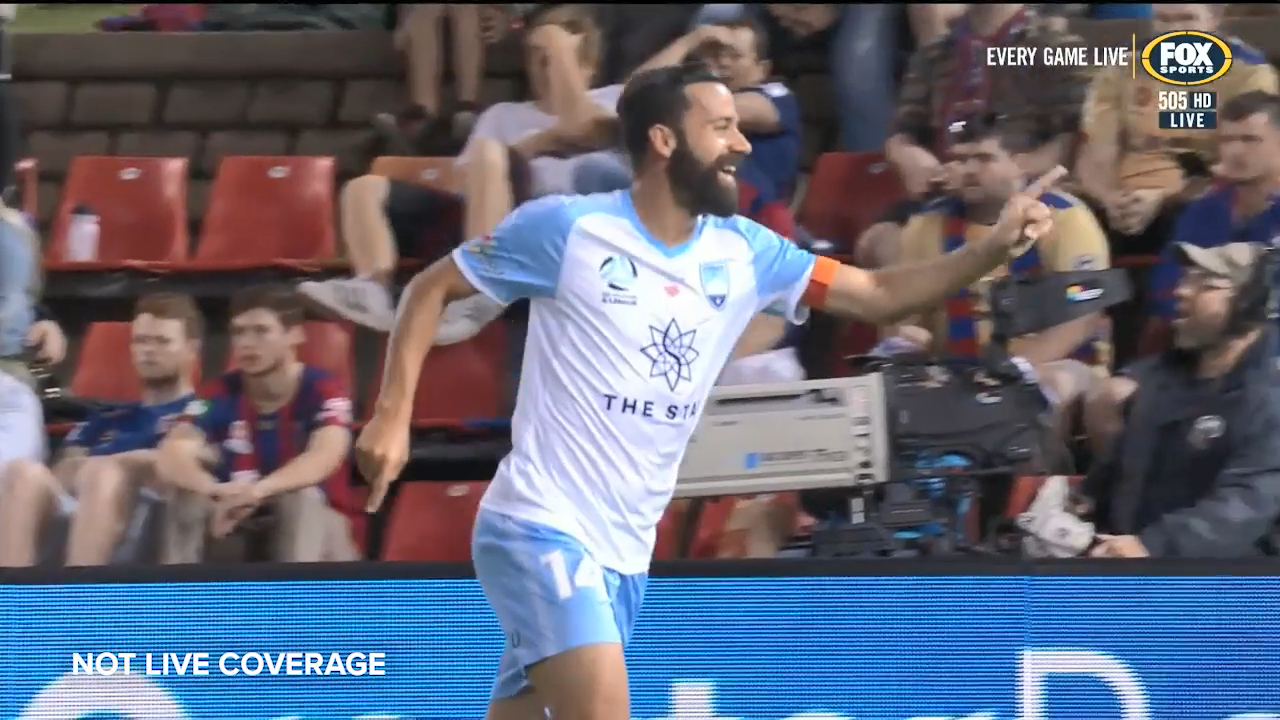 Brosque puts Sydney FC ahead