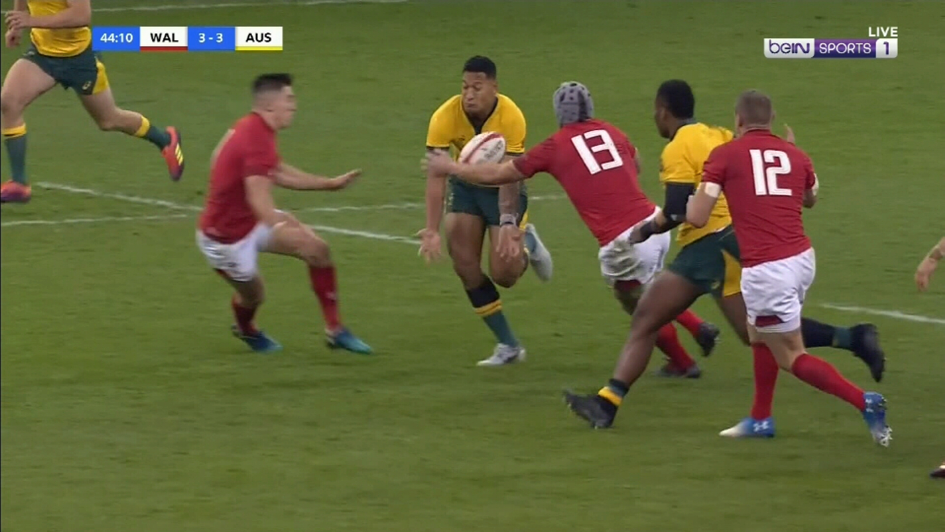 Wallabies beaten by Wales