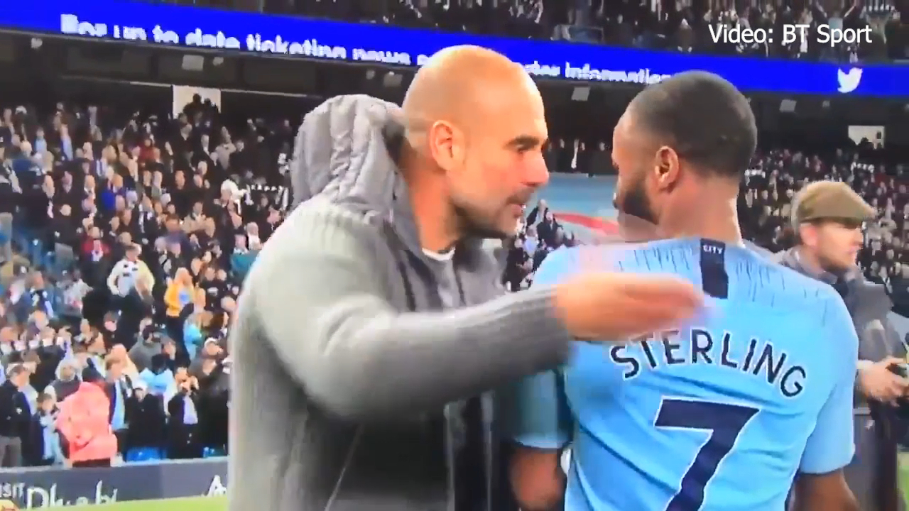 Guardiola blasts Sterling after win