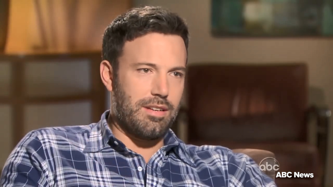 Ben Affleck opens up about his alcoholic father