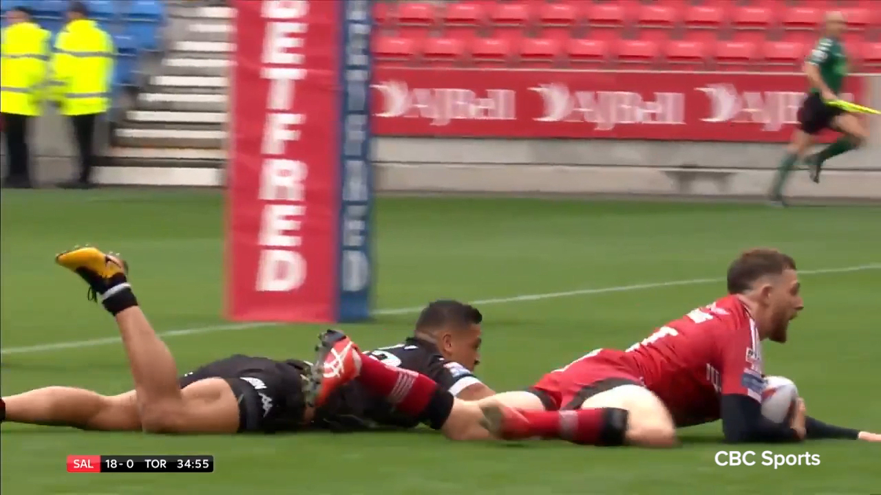 Hastings scores for Salford