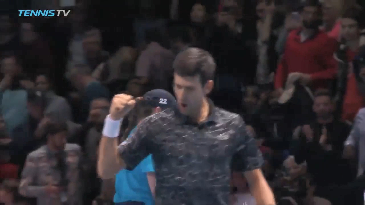 Djokovic downs Isner