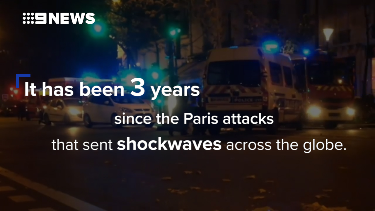 Three years since the Paris terror attacks