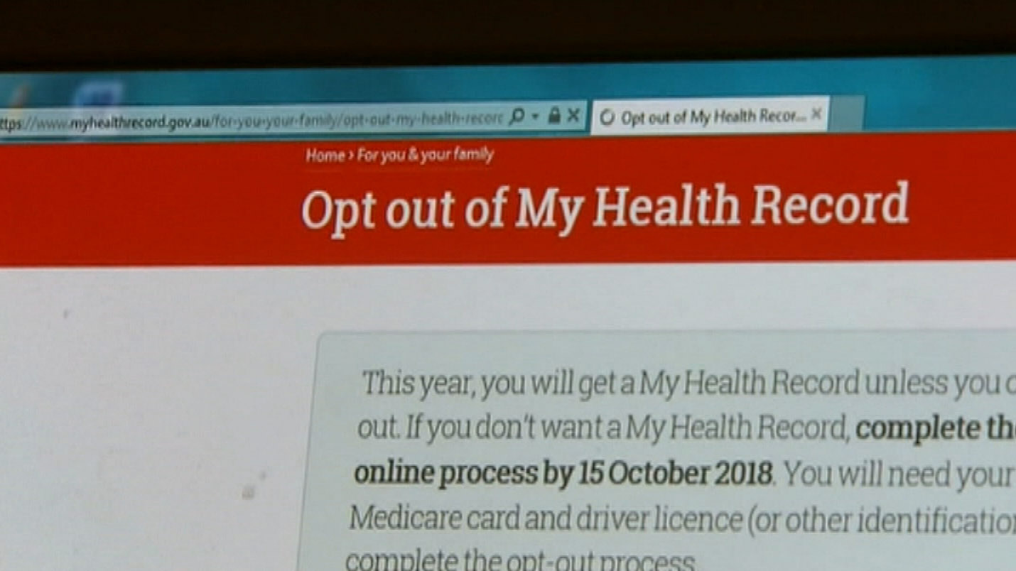 Labor outrage over My health record privacy concerns