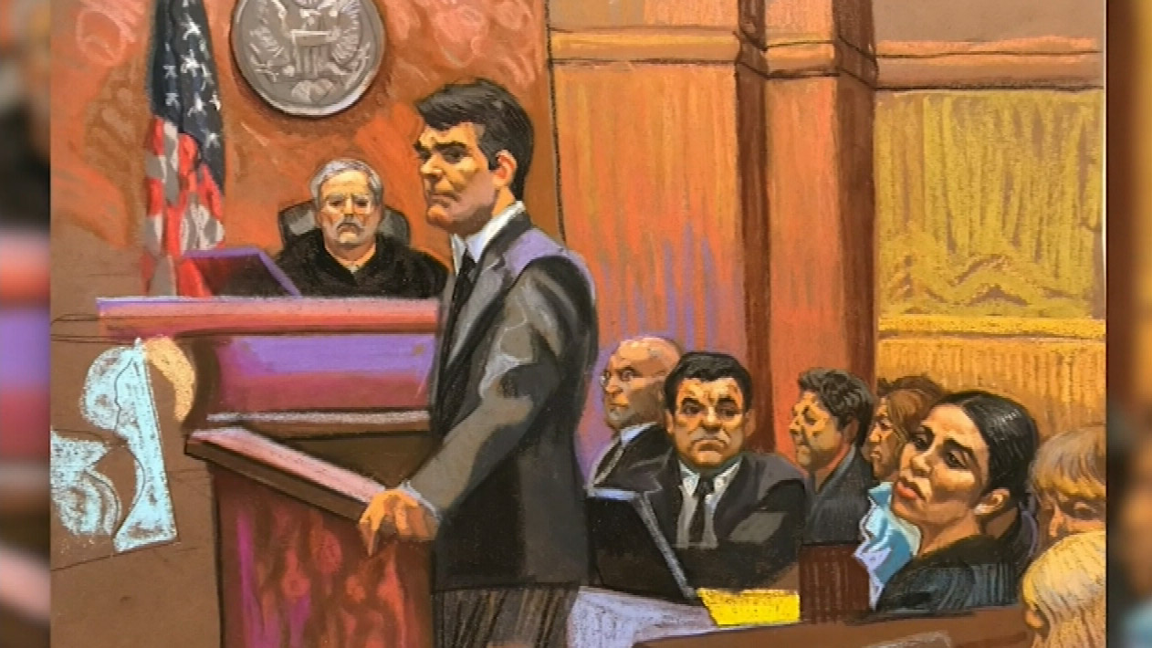 'El Chapo' faces first day of trial