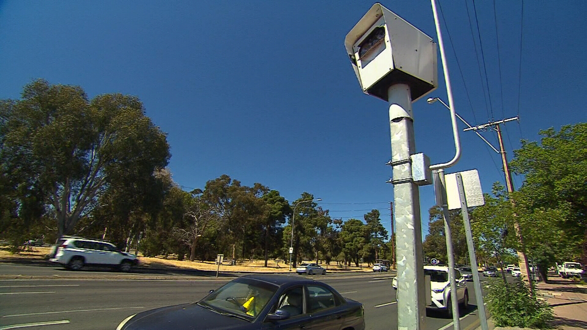 Man arrested over speed camera fires