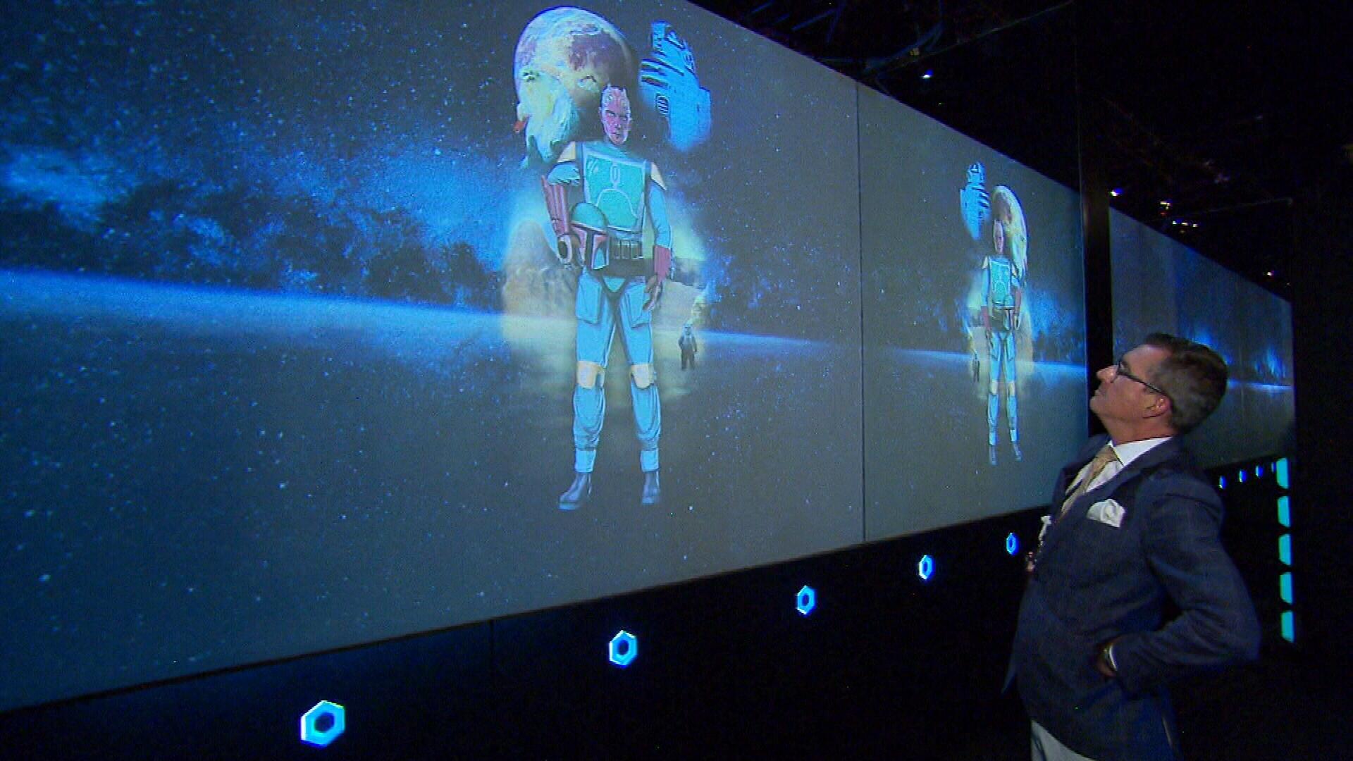 Star Wars exhibition opens in Sydney