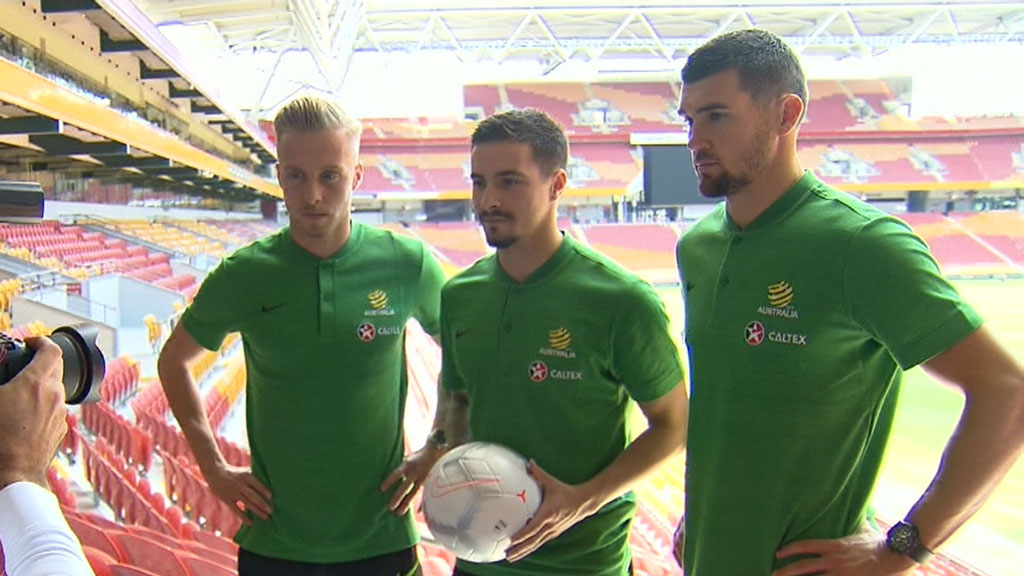 Socceroos launching Arnold era