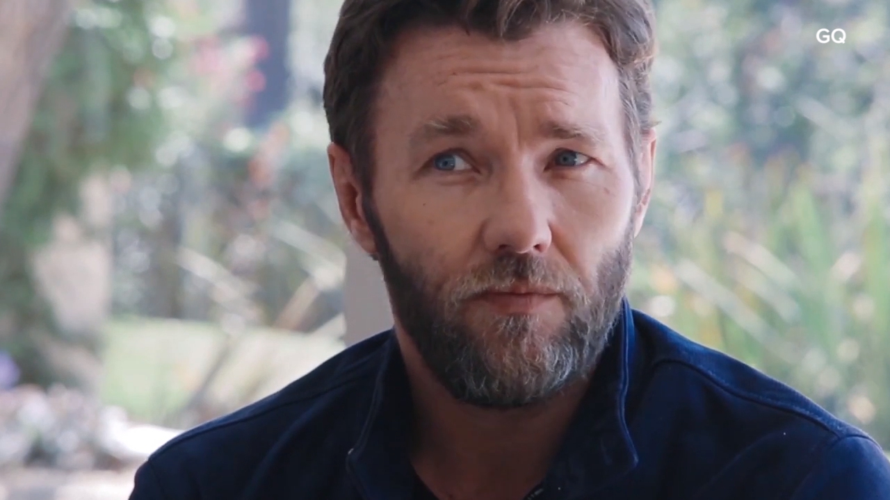 Joel Edgerton opens up about happiness and family
