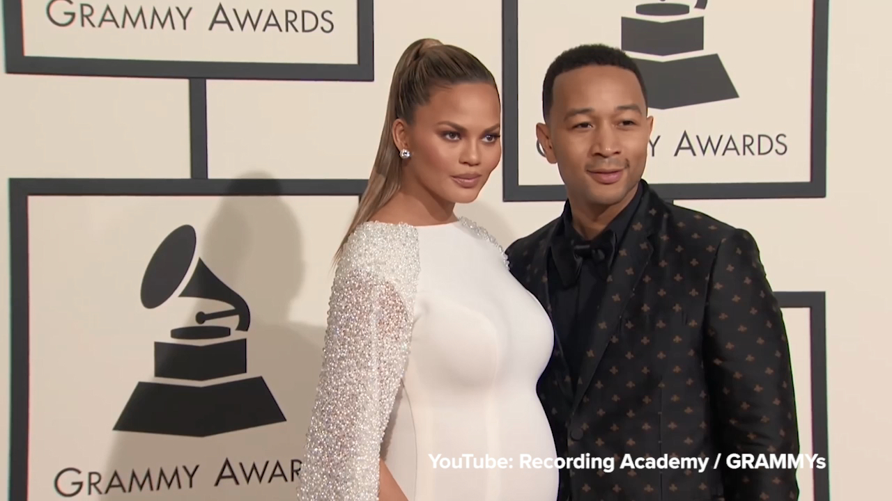 Chrissy Teigen is the ultimate pregnancy style muse