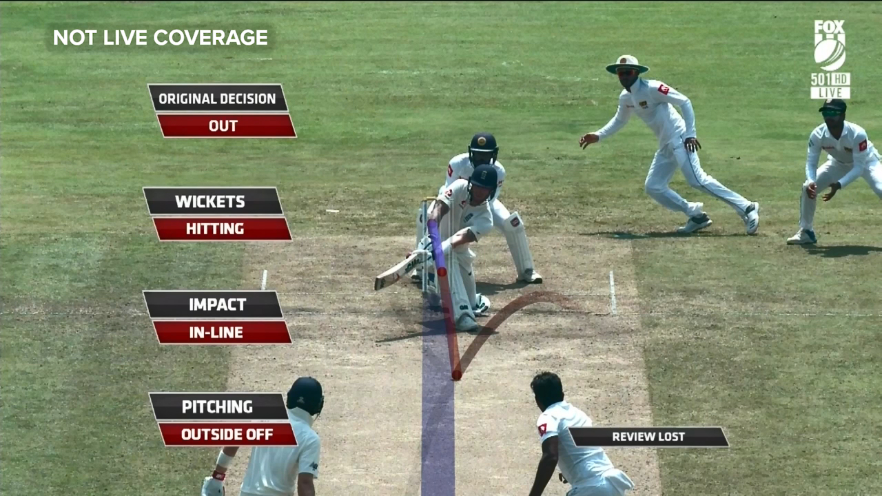 Stokes' shocking DRS review