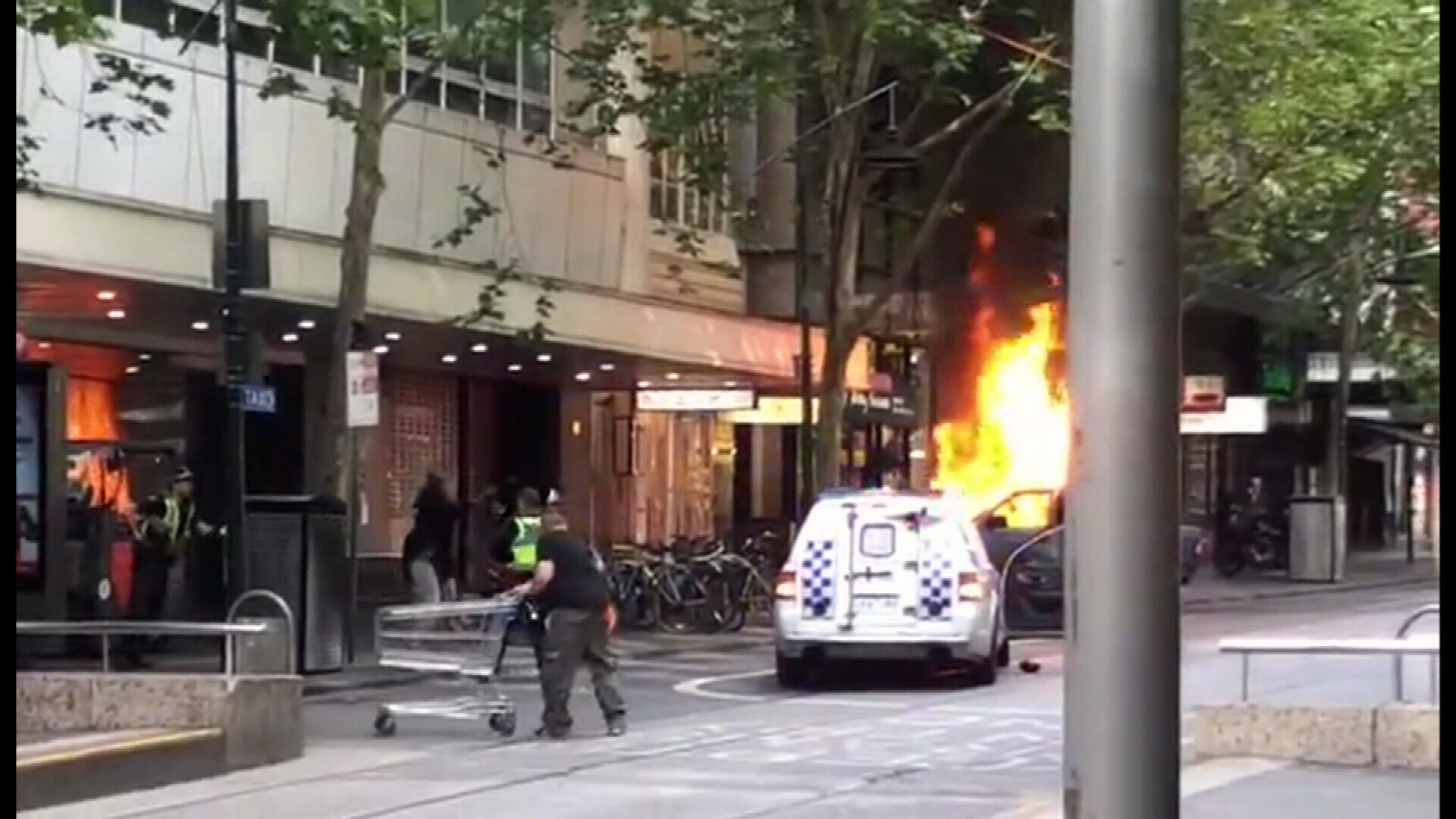 Bourke Street terrorist was out on bail