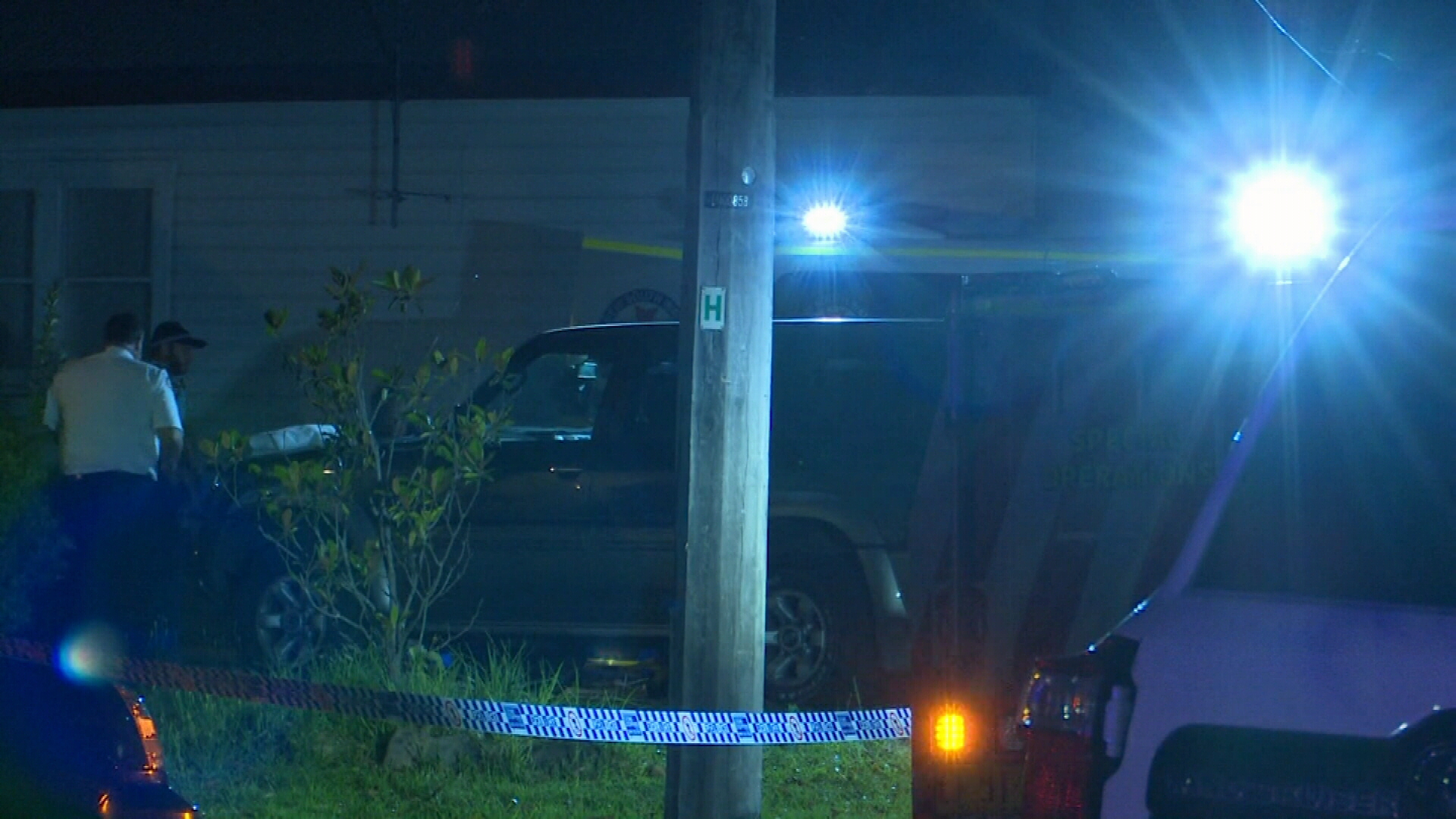 Man shot in leg at home in Sydney's south-west