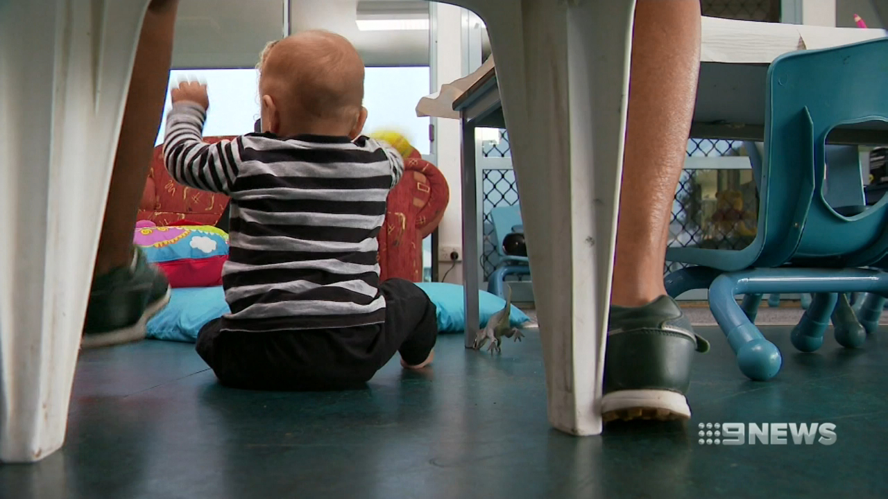 The babies and toddlers who live with jailed mothers